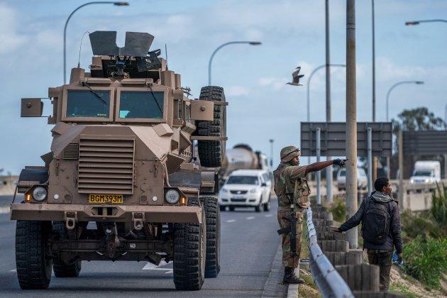 militar confinament coronavirus sudafrica - efe