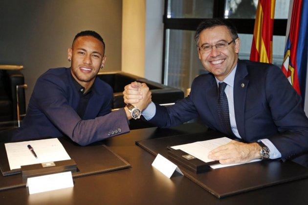 Neymar Bartomeu renovacio Barca FC Barcelona