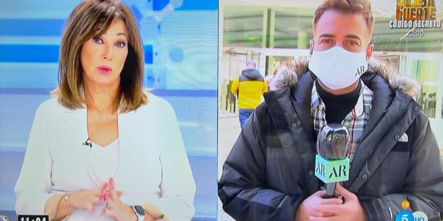 Ana Rosa Quintana amb Miquel Valls sobre Mainat T5