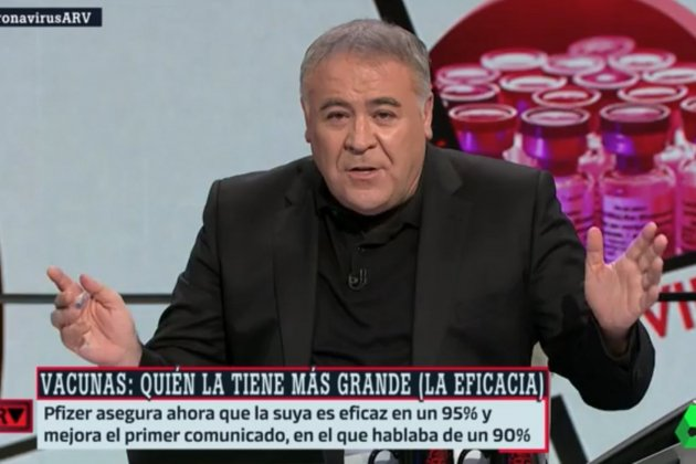 Ferreras retol vacunes La Sexta
