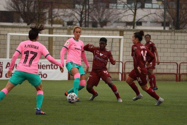 Barça femenino Logroño / EDF Logroño