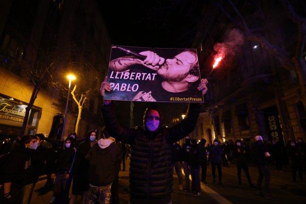 manifestación Pablo Hasel Barcelona - Sergi Alcázar