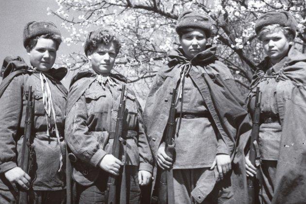 franctiradores sovietiques foto pasado&presente