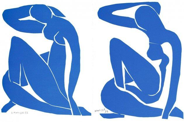 6 Print Suites Henri Matisse Nu Bleu 12 and 6