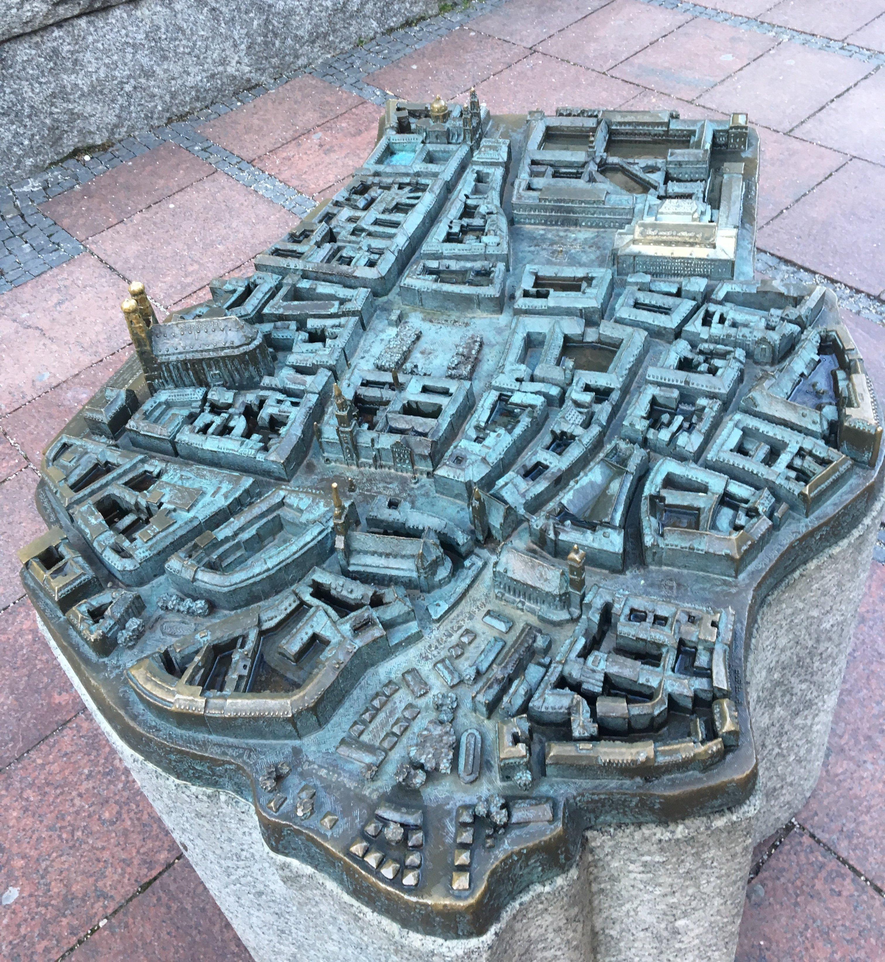 Escultura ciutat Munic