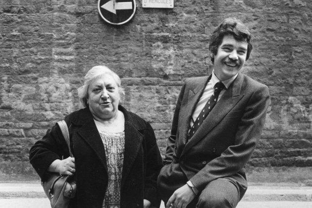 Aurèlia Capmany i Pascual Maragall 1983. Meteora