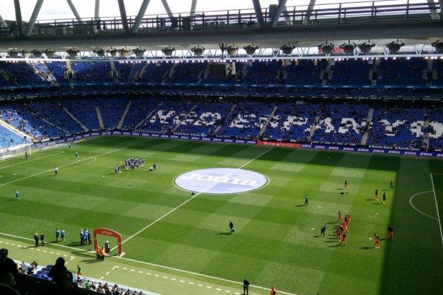 Espanyol Reial Societat RCDE Stadium Jordi Carné
