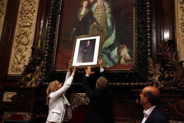 Retrat Felip VI Ajuntament Barcelona ACN