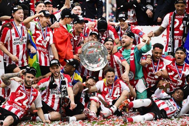PSV Eindhoven Eredivise títol celebració Efe