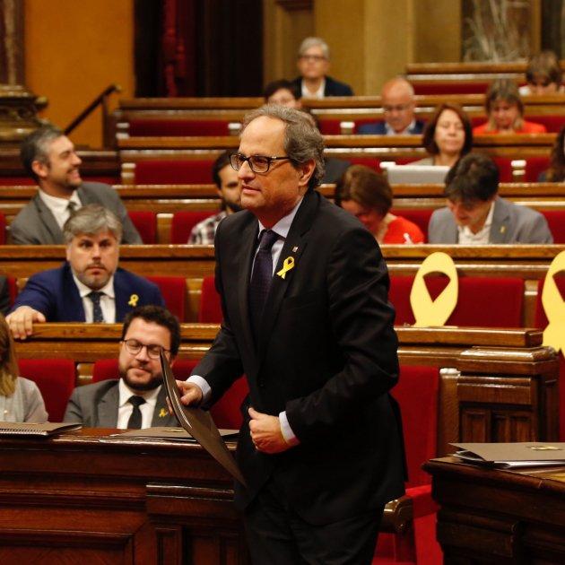 Torra Parlament Sergi Alcàzar
