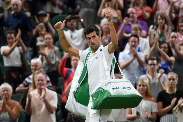 Novak Djokovic Wimbledon EFE