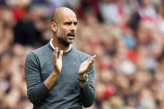 Pep Guardiola Emirates Stadium Manchester City EFE