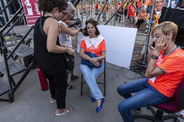 Maquillatge Elisenda Paluzie TV3 - Sergi Alcàzar