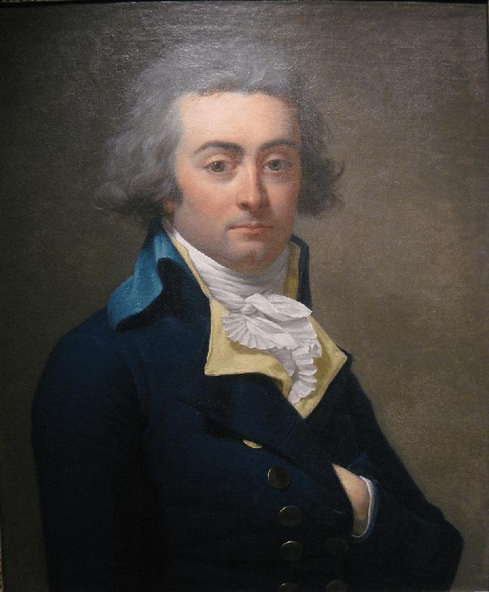 Retrat de Georges Couthon (1790). Musée du Carnavalet. París