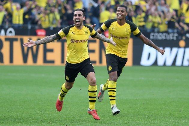 Paco Alcacer Dortmund EFE (2)