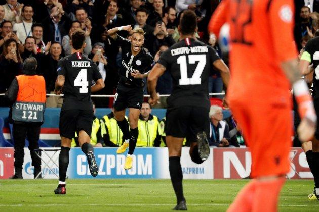 Neymar PSG Estrella Roja EFE