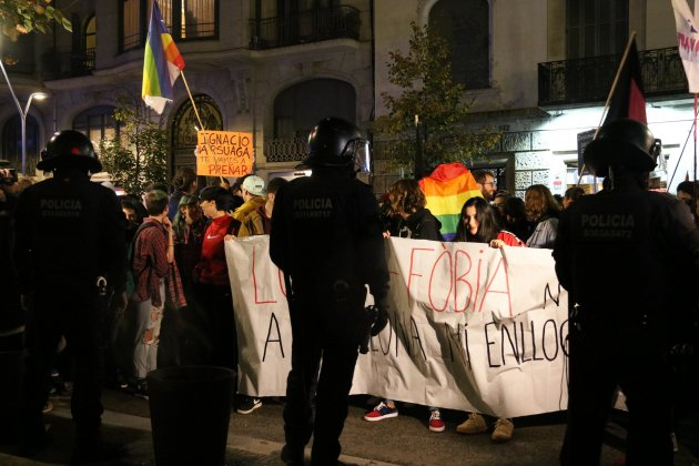 Concentració acte Hazte Oir Barcelona - ACN