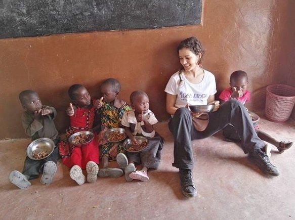 sandra blazquez nens africa