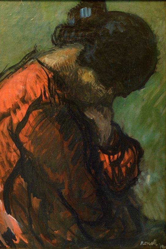 Isidre Nonell (1872 1911) Étude Gitana 1903 Oli sobre tela 66x54cm