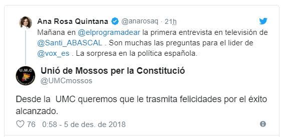 Mossos Constitució