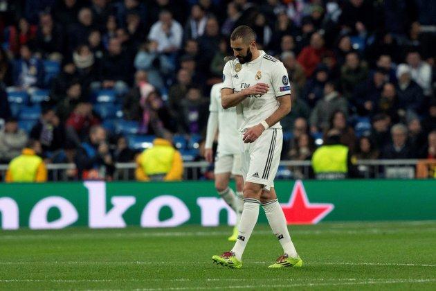 Benzema Reial Madrid CSKA Moscou EFE