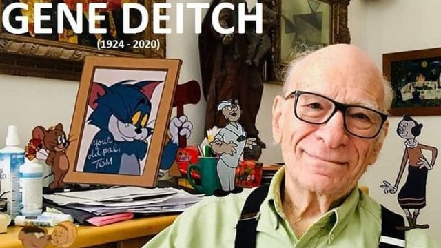 Falleció Gene Deitch, dibujante de Tom y Jerry y Popeye