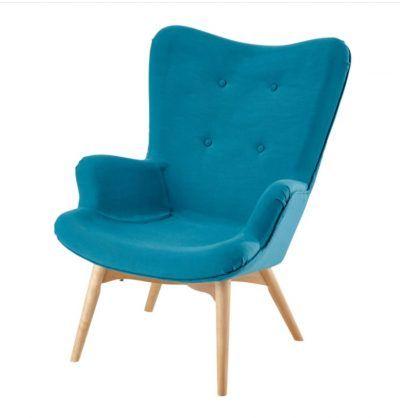 Butaca Azul para salón pequeño