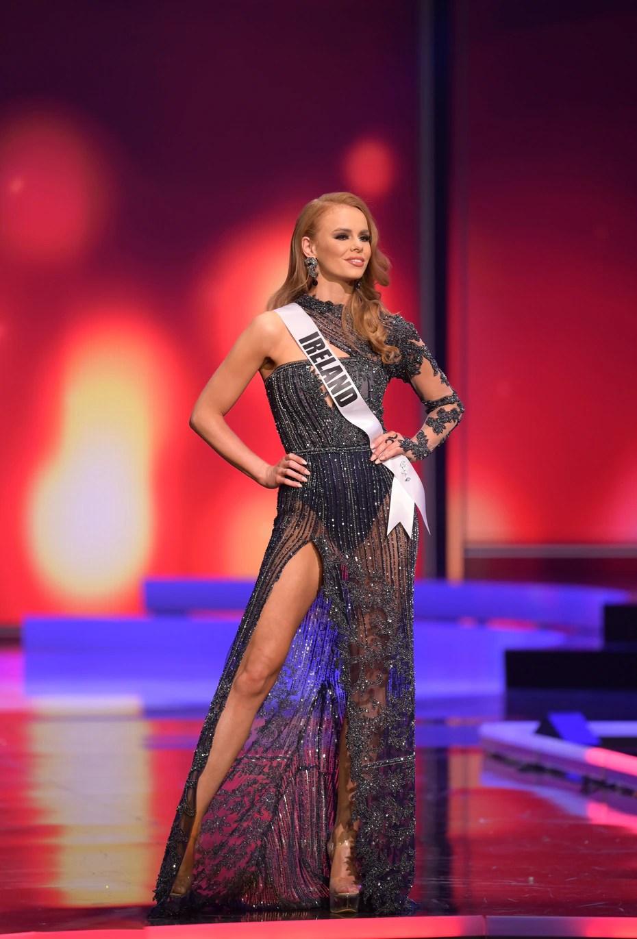 Nadia Sayers, Miss Universe Irlanda.