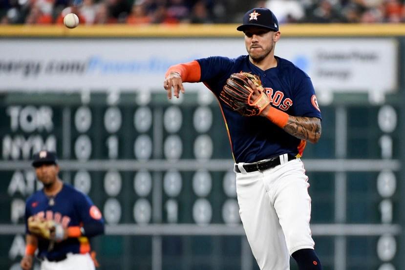 Carlos Correa busca recuperar sus energías