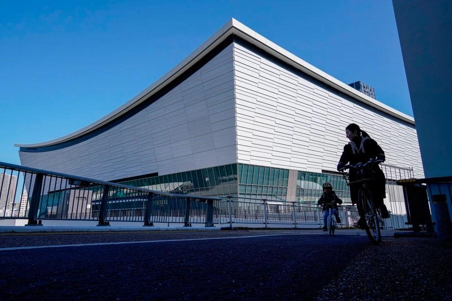 Ariake Arena, sede del voleibol.