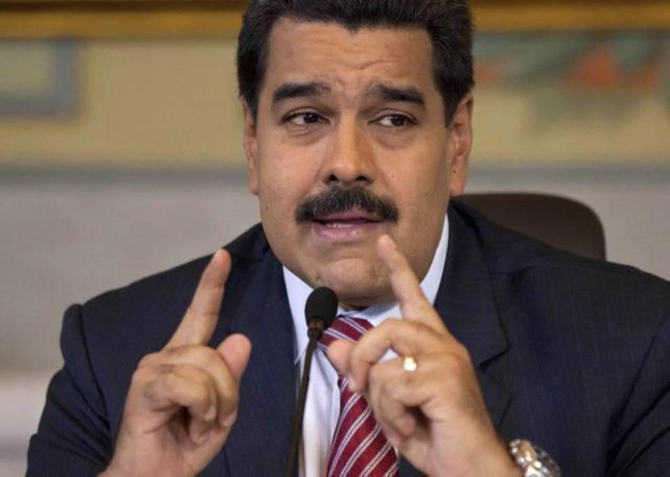 El gobernante venezolano Nicolás Maduro durante una conferencia de prensa en Caracas en octubre del 2014.