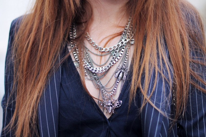 collier insectes