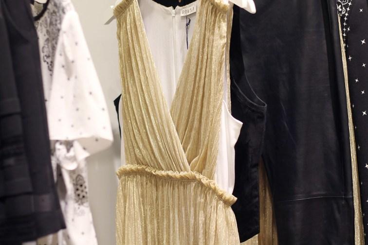 robe dorée