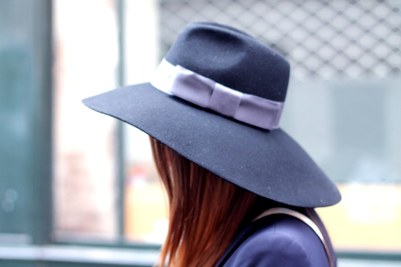 chapeau femme noeud