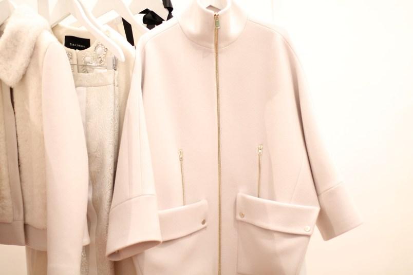 manteau blanc oversize