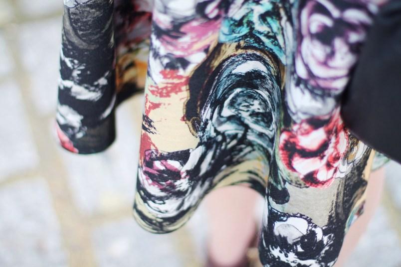 jupe imprimé floral