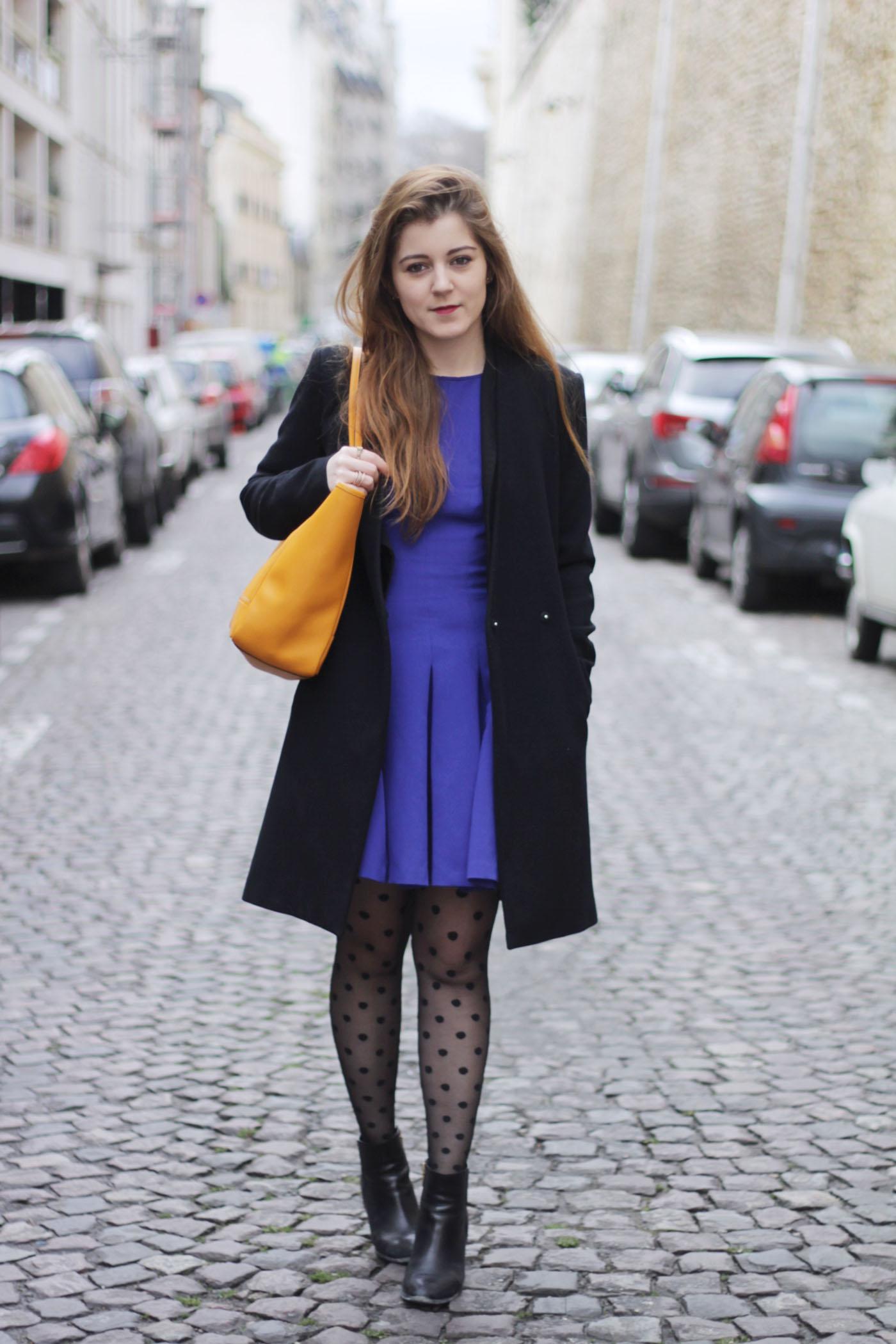 la robe bleue elodie in paris. Black Bedroom Furniture Sets. Home Design Ideas