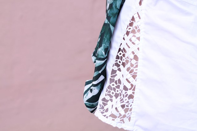 detail robe anne fontaine