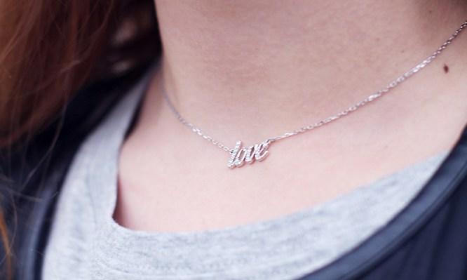 love necklace swarovski