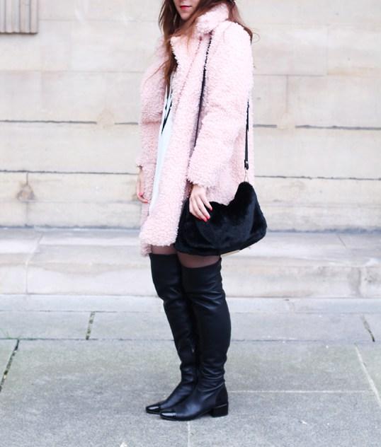 manteau bouclette