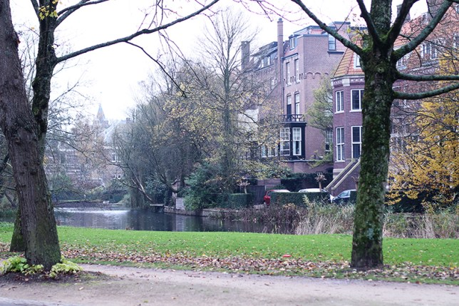 vondelpark autumn