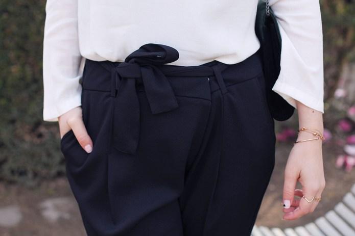 pantalon croisé