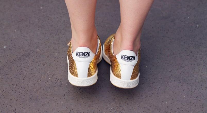 baskets dorées