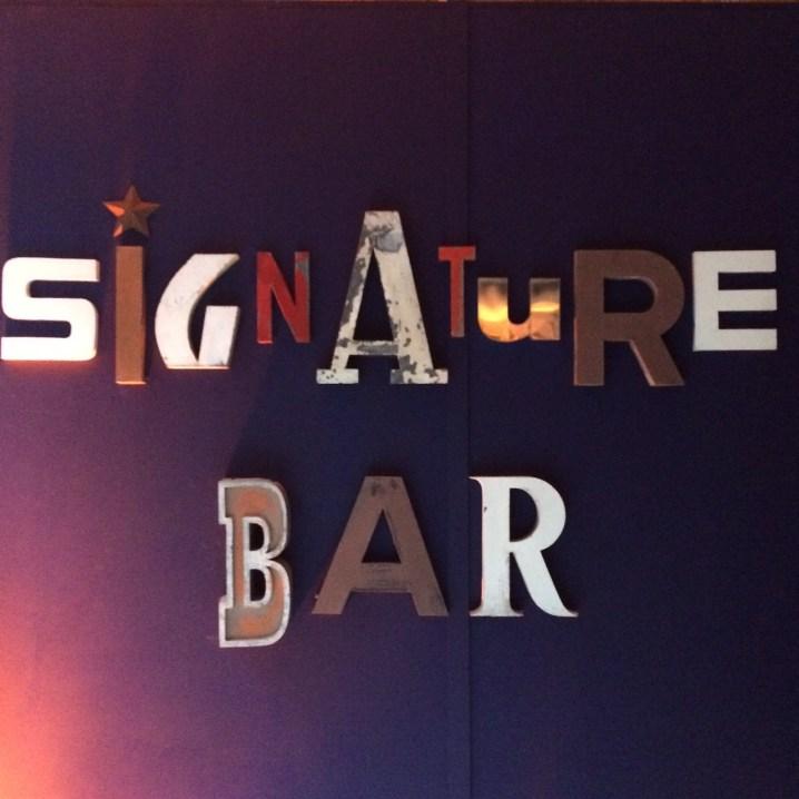 signature bar
