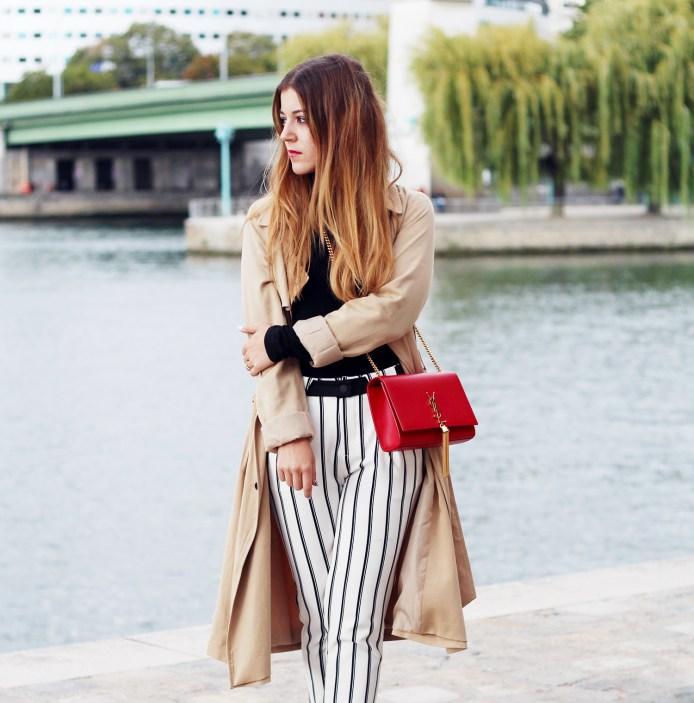 pantalon rayé-zara