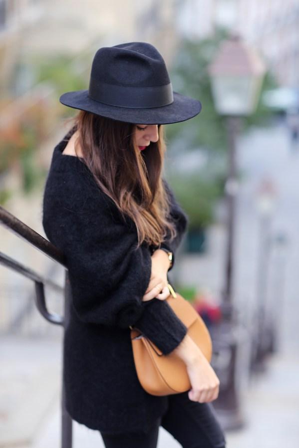 chapeau noir