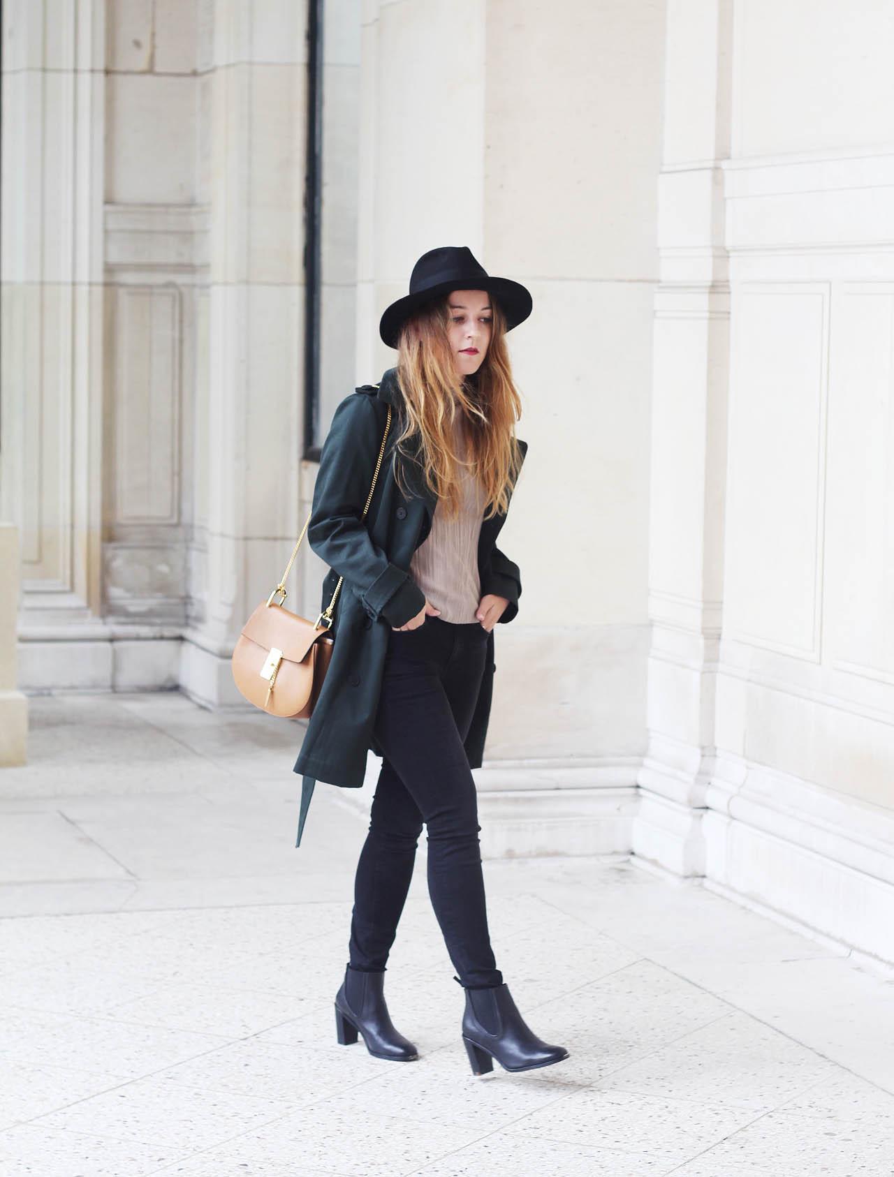 Trench boots elodie in paris - Instagram comptoir des cotonniers ...