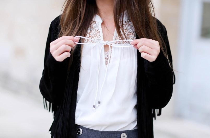 blouse blanche kiabi