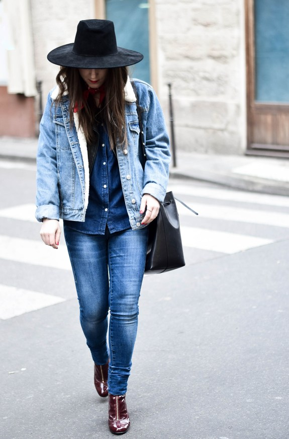 Denim outfit