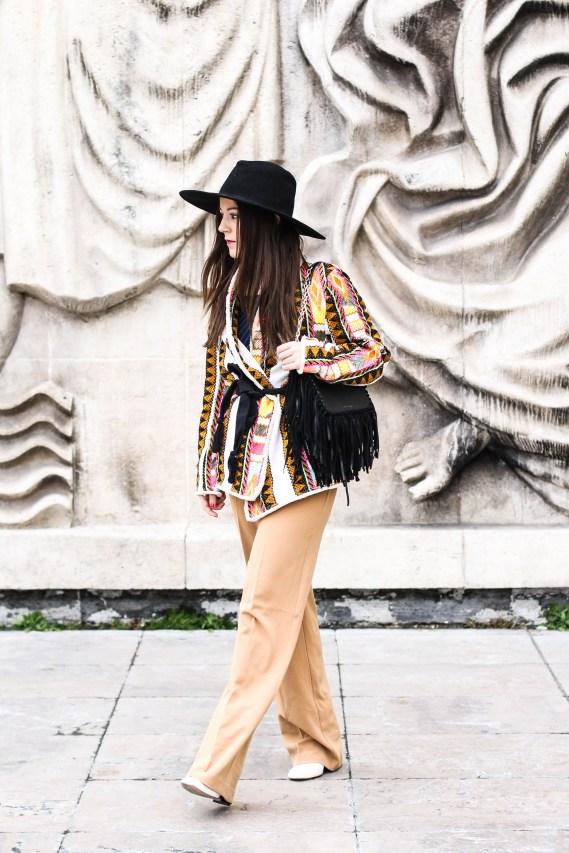 Kimono azteque